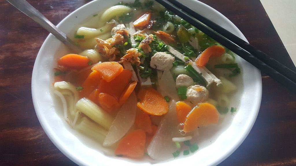 """Photo of Pham Hong Phuoc  by <a href=""""/members/profile/Refinnej"""">Refinnej</a> <br/>nui (noodle soup) <br/> September 4, 2017  - <a href='/contact/abuse/image/93986/300831'>Report</a>"""