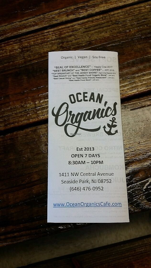 "Photo of Ocean Organics  by <a href=""/members/profile/VeganMama27"">VeganMama27</a> <br/>Awesome place <br/> July 6, 2017  - <a href='/contact/abuse/image/93989/277121'>Report</a>"