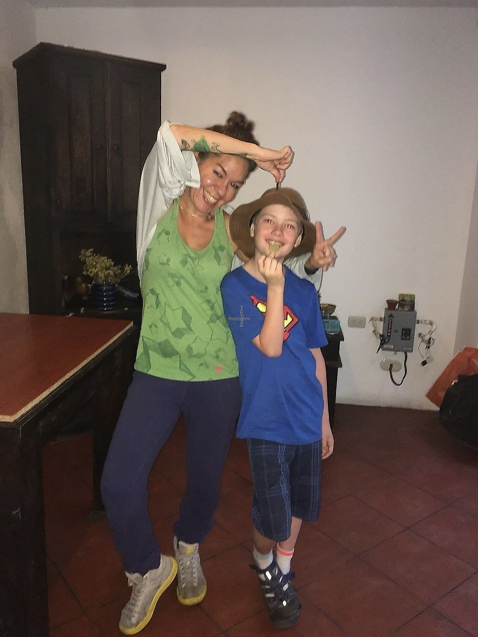 """Photo of Sat Nam  by <a href=""""/members/profile/templeclimber"""">templeclimber</a> <br/>The owner Karla with my grandson Henry.  <br/> February 14, 2018  - <a href='/contact/abuse/image/93990/359868'>Report</a>"""
