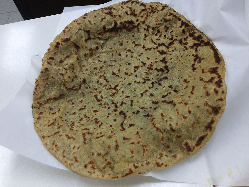 """Photo of Chaat House  by <a href=""""/members/profile/Arti"""">Arti</a> <br/>huge parantha! <br/> October 6, 2017  - <a href='/contact/abuse/image/93992/312211'>Report</a>"""
