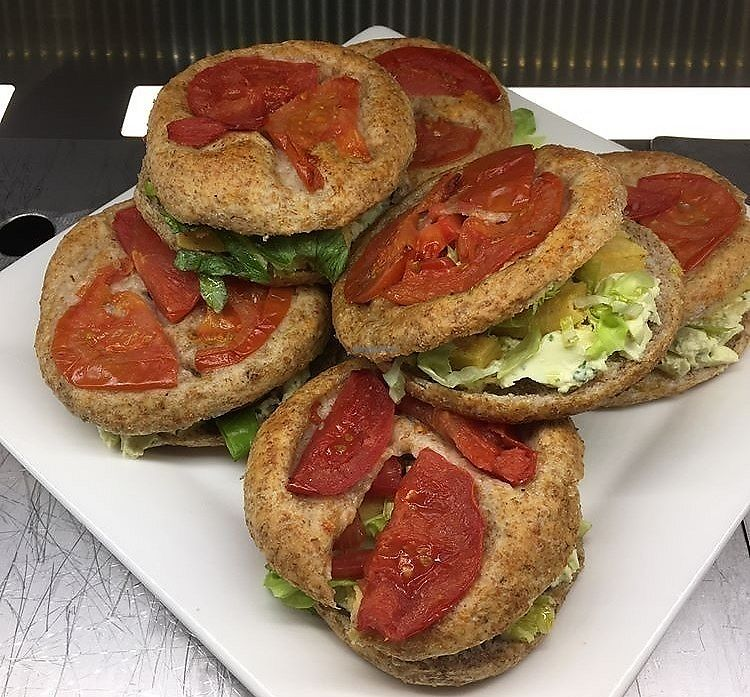 """Photo of Essenza  by <a href=""""/members/profile/LaviniaFanti"""">LaviniaFanti</a> <br/>buckwheat panini with roasted veggies and vegan soft cheese <br/> June 18, 2017  - <a href='/contact/abuse/image/93999/270329'>Report</a>"""