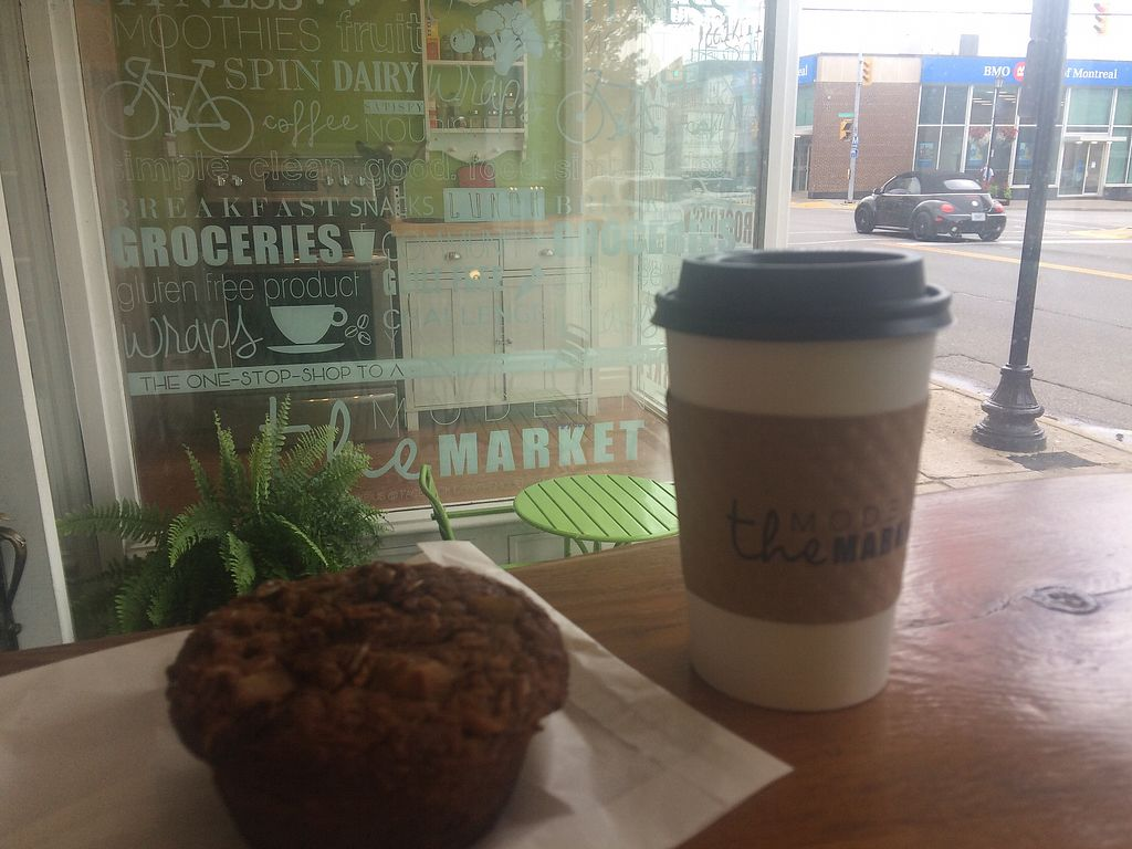 "Photo of The Modern Market  by <a href=""/members/profile/KristinMadeleine"">KristinMadeleine</a> <br/>coffee and muffin  <br/> August 9, 2017  - <a href='/contact/abuse/image/94017/290918'>Report</a>"