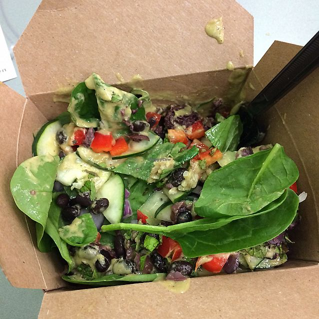 "Photo of grabbagreen  by <a href=""/members/profile/KatieBush"">KatieBush</a> <br/>Mediterranean rice bowl vegan <br/> June 14, 2017  - <a href='/contact/abuse/image/94027/269002'>Report</a>"