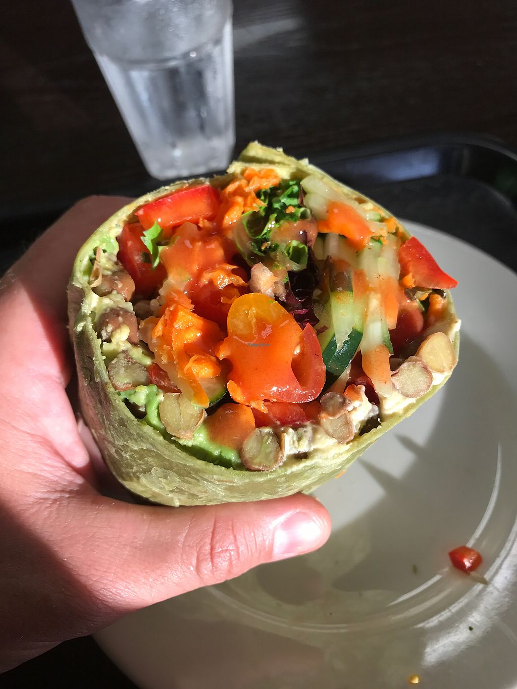"Photo of Zest Kitchen  by <a href=""/members/profile/JimMontevecchio"">JimMontevecchio</a> <br/>Great Vege/bean/avocado wrap!  <br/> June 25, 2017  - <a href='/contact/abuse/image/94028/273160'>Report</a>"