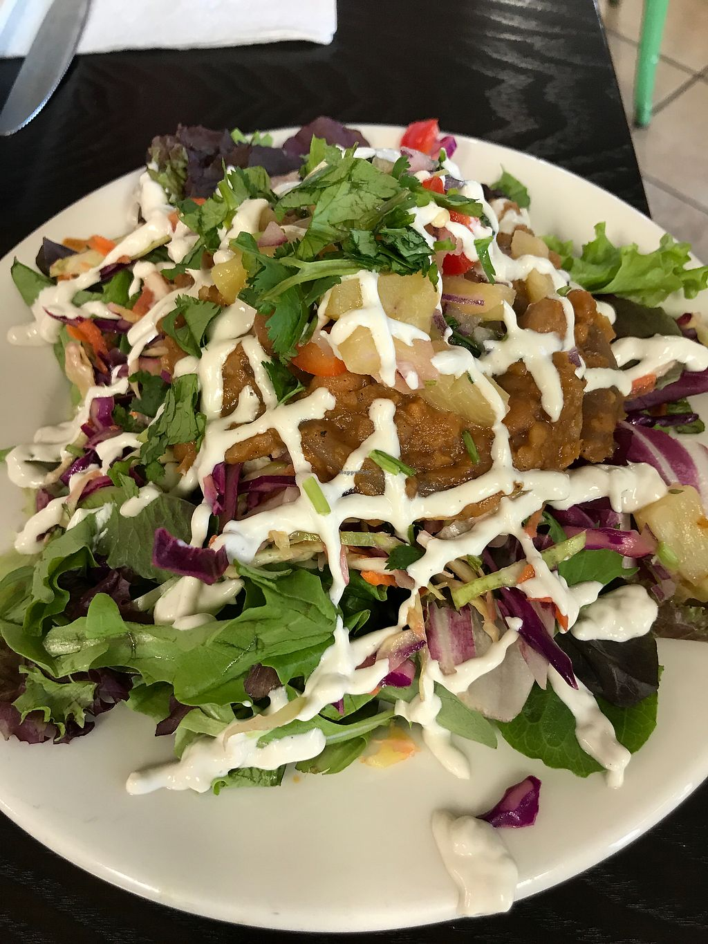 "Photo of Zest Kitchen  by <a href=""/members/profile/%24tonedVegan"">$tonedVegan</a> <br/>Taco Salad <br/> December 11, 2017  - <a href='/contact/abuse/image/94028/334460'>Report</a>"