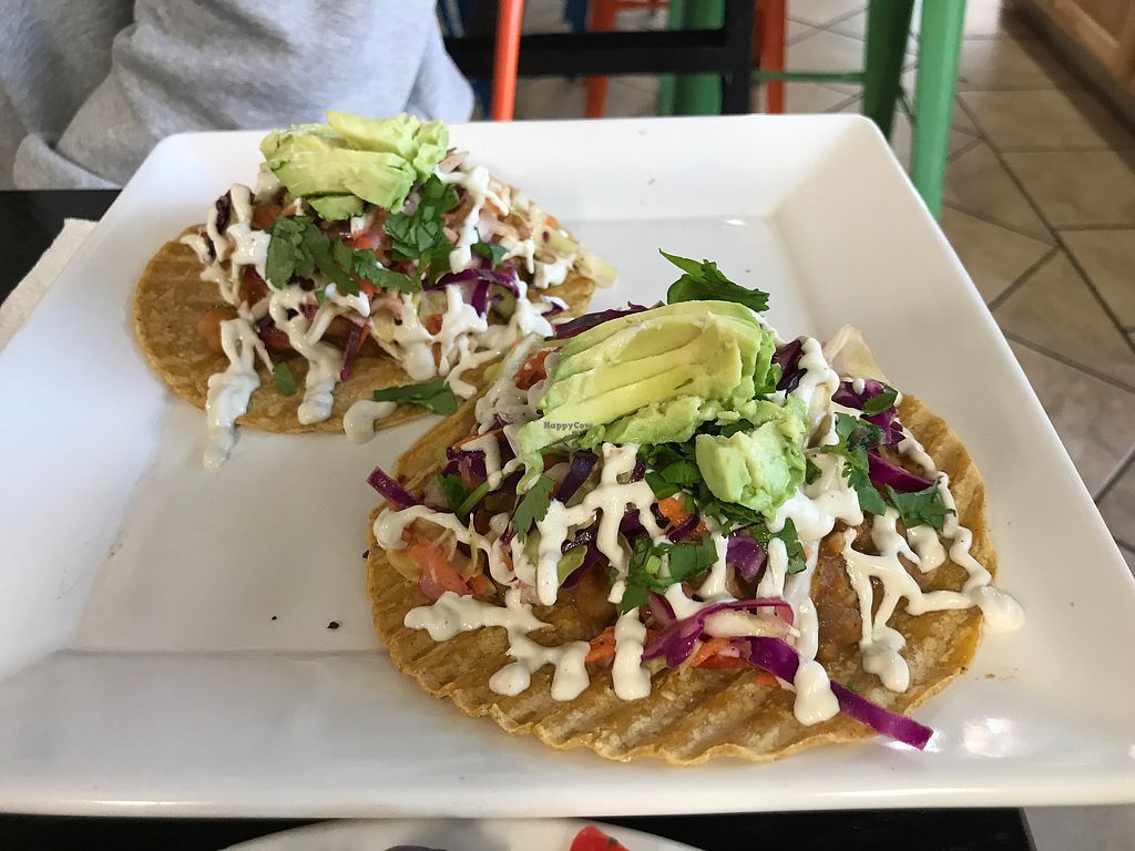 "Photo of Zest Kitchen  by <a href=""/members/profile/%24tonedVegan"">$tonedVegan</a> <br/>Chipotle Tacos with avocado <br/> December 11, 2017  - <a href='/contact/abuse/image/94028/334461'>Report</a>"