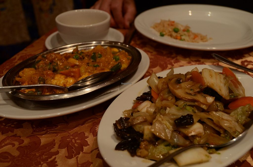 """Photo of Jomolungma  by <a href=""""/members/profile/Ciad"""">Ciad</a> <br/>Vegetables and an Indian curry dish <br/> March 1, 2016  - <a href='/contact/abuse/image/9402/138447'>Report</a>"""