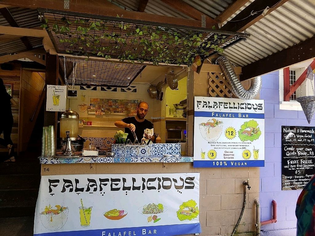 "Photo of Falafellicious  by <a href=""/members/profile/HappyDe"">HappyDe</a> <br/>best felafels weve ever eaten <br/> March 30, 2018  - <a href='/contact/abuse/image/94039/378092'>Report</a>"