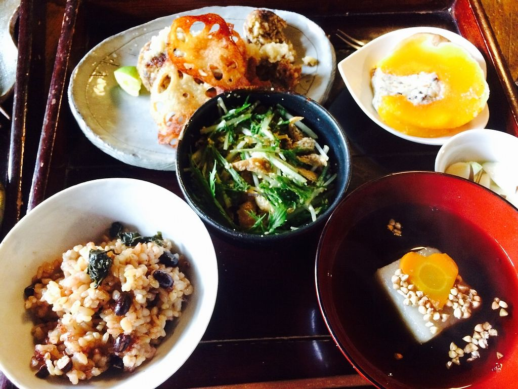"""Photo of Pace  by <a href=""""/members/profile/twocats"""">twocats</a> <br/>Vegan Jomon lunch <br/> November 6, 2017  - <a href='/contact/abuse/image/94047/322463'>Report</a>"""
