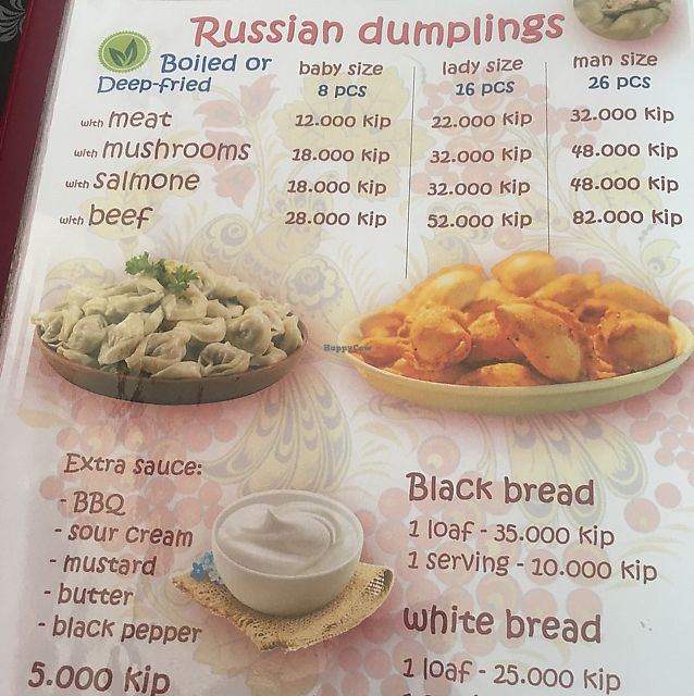 """Photo of Privet Russian Food  by <a href=""""/members/profile/Duriandevoured"""">Duriandevoured</a> <br/>menu <br/> June 17, 2017  - <a href='/contact/abuse/image/94055/270033'>Report</a>"""