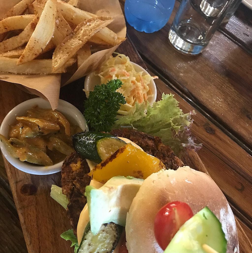 """Photo of In Food Bakery & Deli Restaurant  by <a href=""""/members/profile/Debbie23"""">Debbie23</a> <br/>Hullabaloo burger - Vegan option  <br/> June 19, 2017  - <a href='/contact/abuse/image/94062/270821'>Report</a>"""