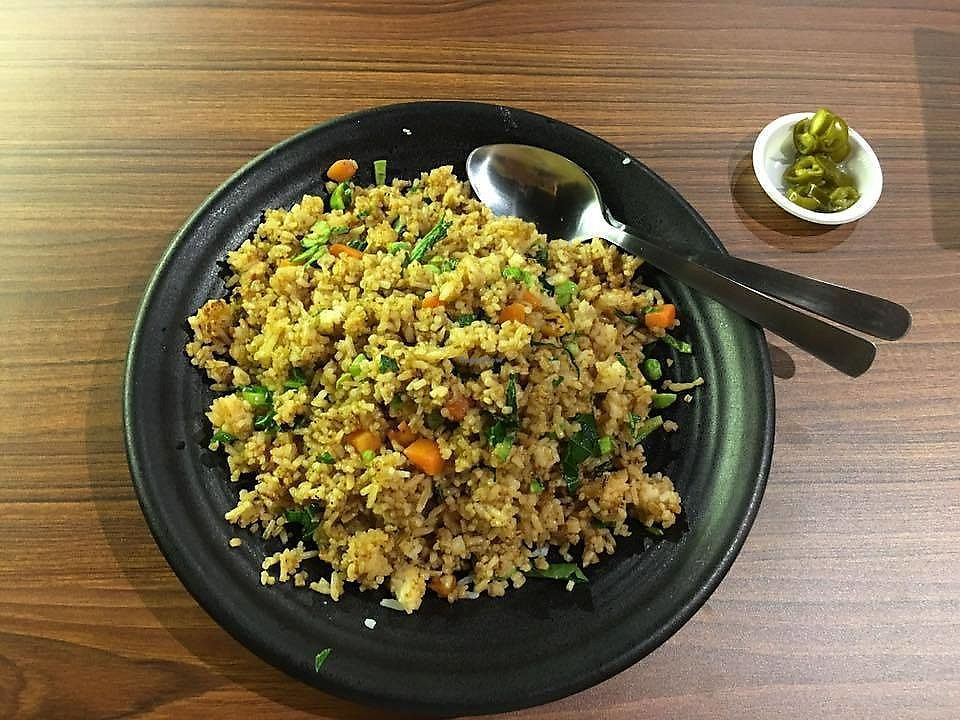 """Photo of Time's Vege  by <a href=""""/members/profile/JimmySeah"""">JimmySeah</a> <br/> Sambal Petai fried rice without egg <br/> June 18, 2017  - <a href='/contact/abuse/image/94067/270311'>Report</a>"""