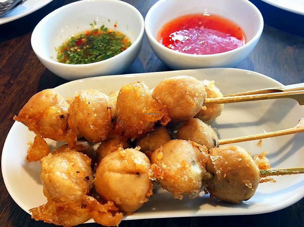 "Photo of House of Joy  by <a href=""/members/profile/AreeyarathBoonsoonto"">AreeyarathBoonsoonto</a> <br/>Tempura Vegan Balls <br/> June 15, 2017  - <a href='/contact/abuse/image/94068/269385'>Report</a>"