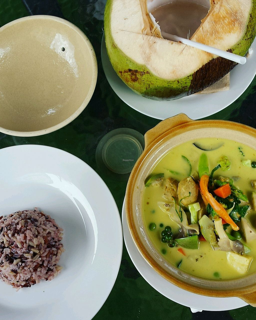 "Photo of House of Joy  by <a href=""/members/profile/renataw"">renataw</a> <br/>Thai green curry and fresh coconut ? <br/> October 12, 2017  - <a href='/contact/abuse/image/94068/314445'>Report</a>"