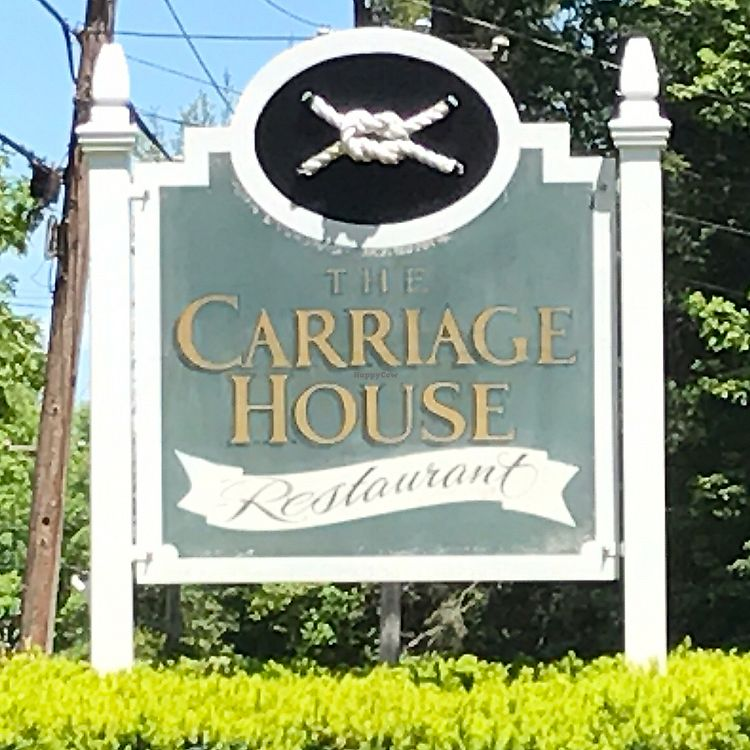 "Photo of Carriage House Restaurant  by <a href=""/members/profile/Sarah%20P"">Sarah P</a> <br/>front sign <br/> June 15, 2017  - <a href='/contact/abuse/image/94083/269252'>Report</a>"