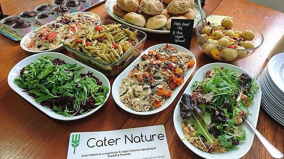 "Photo of Cater Nature  by <a href=""/members/profile/charclothier"">charclothier</a> <br/>cater nature vegan spread buffet <br/> November 7, 2017  - <a href='/contact/abuse/image/94089/323004'>Report</a>"