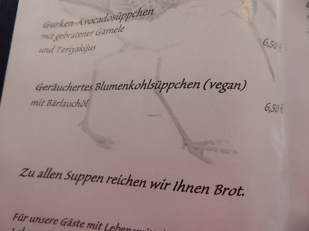 "Photo of Zum Strandläufer  by <a href=""/members/profile/VeganNatascha"">VeganNatascha</a> <br/>Suppen <br/> June 19, 2017  - <a href='/contact/abuse/image/94126/271076'>Report</a>"