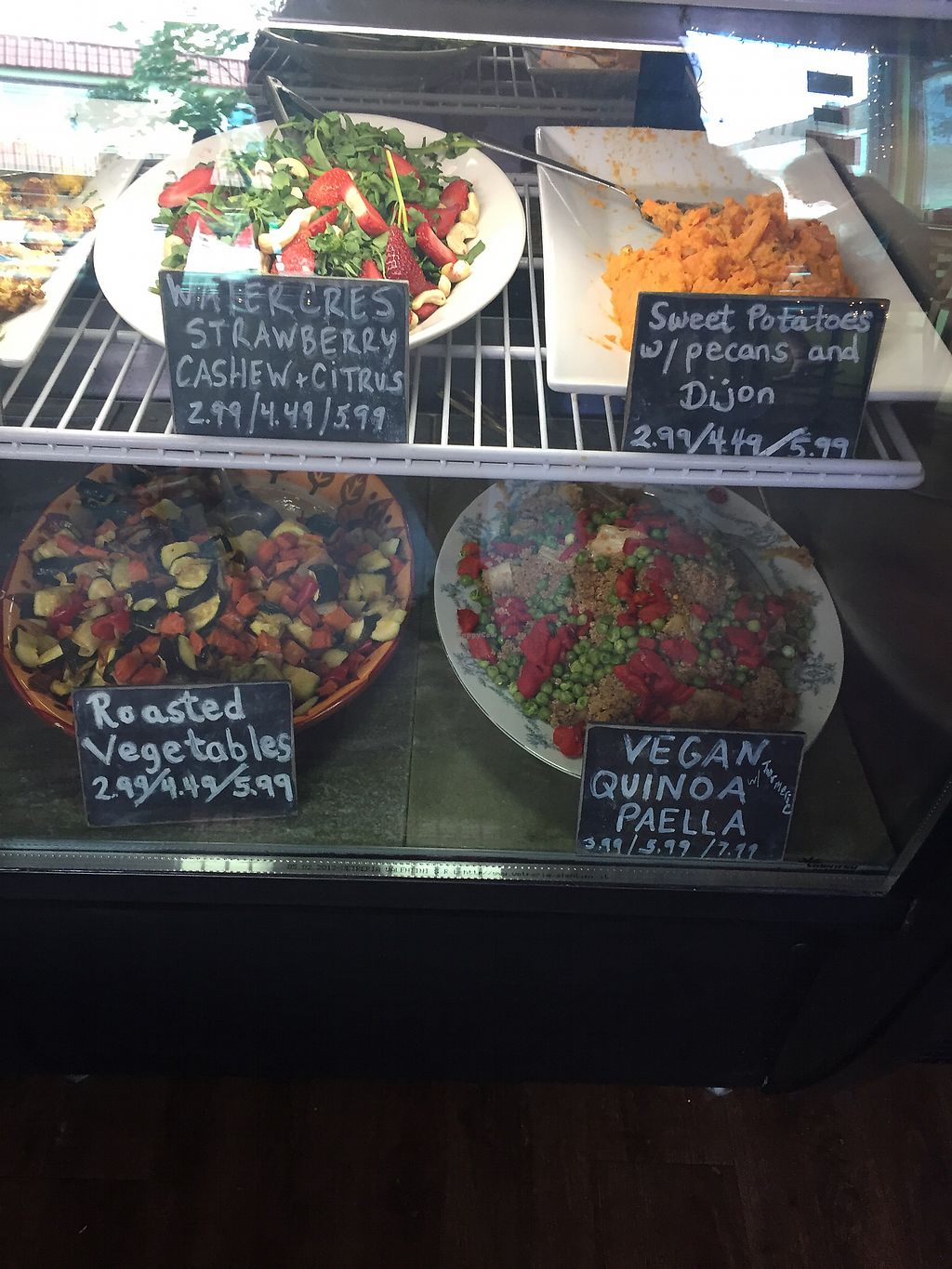 """Photo of Mia's Kitchen  by <a href=""""/members/profile/GlennMartin"""">GlennMartin</a> <br/>Many salad options <br/> July 7, 2017  - <a href='/contact/abuse/image/94143/277553'>Report</a>"""