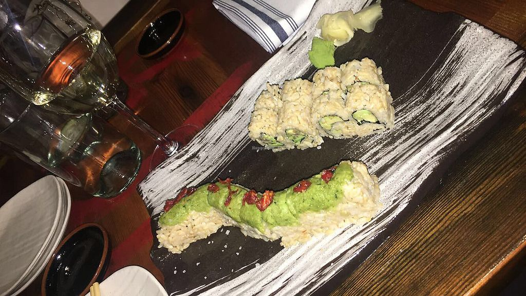 "Photo of Blue Sushi Sake Grill  by <a href=""/members/profile/haley_singer"">haley_singer</a> <br/>great rolls <br/> January 9, 2018  - <a href='/contact/abuse/image/94146/344611'>Report</a>"