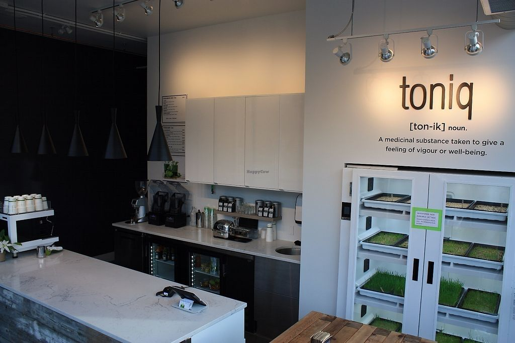 "Photo of Toniq Juice Bar  by <a href=""/members/profile/GShepherd"">GShepherd</a> <br/>Urban cultivator - fresh wheatgrass daily <br/> June 16, 2017  - <a href='/contact/abuse/image/94184/269819'>Report</a>"