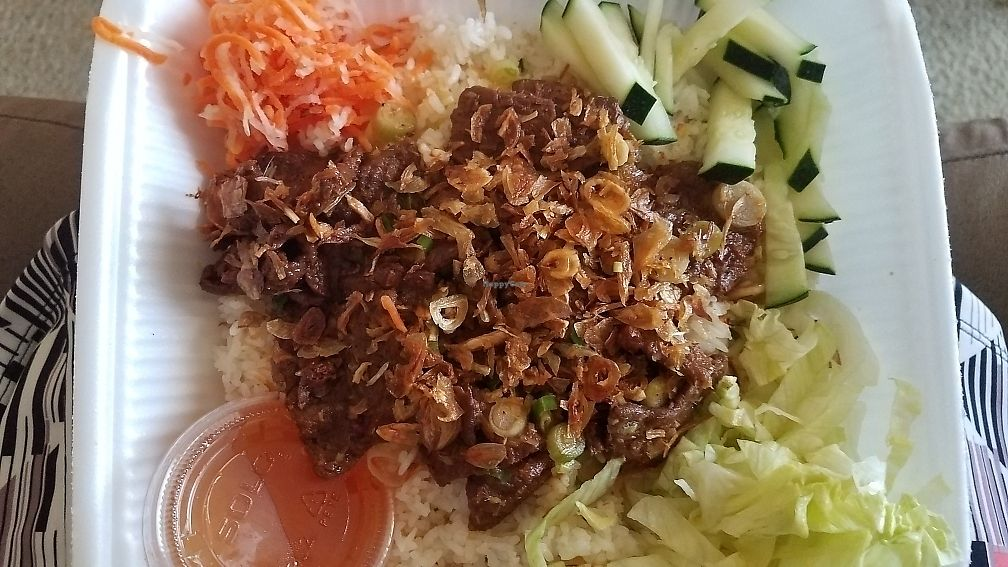 "Photo of BobaTea Garden  by <a href=""/members/profile/Janneson"">Janneson</a> <br/>Grilled lemongrass ""beef"" <br/> June 16, 2017  - <a href='/contact/abuse/image/94188/269856'>Report</a>"