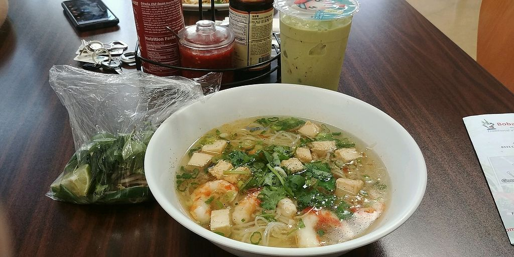"Photo of BobaTea Garden  by <a href=""/members/profile/ElizabethSchirmer"">ElizabethSchirmer</a> <br/>#118 Seafood noodle soup & matcha green tea boba <br/> October 19, 2017  - <a href='/contact/abuse/image/94188/316494'>Report</a>"