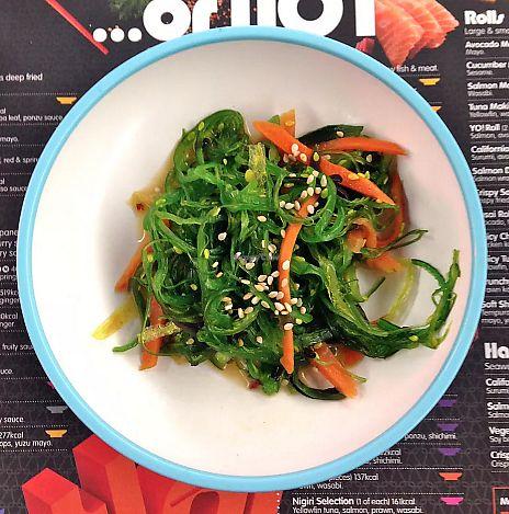"Photo of Yo Sushi  by <a href=""/members/profile/TARAMCDONALD"">TARAMCDONALD</a> <br/>Seaweed salad <br/> June 18, 2017  - <a href='/contact/abuse/image/94203/270401'>Report</a>"