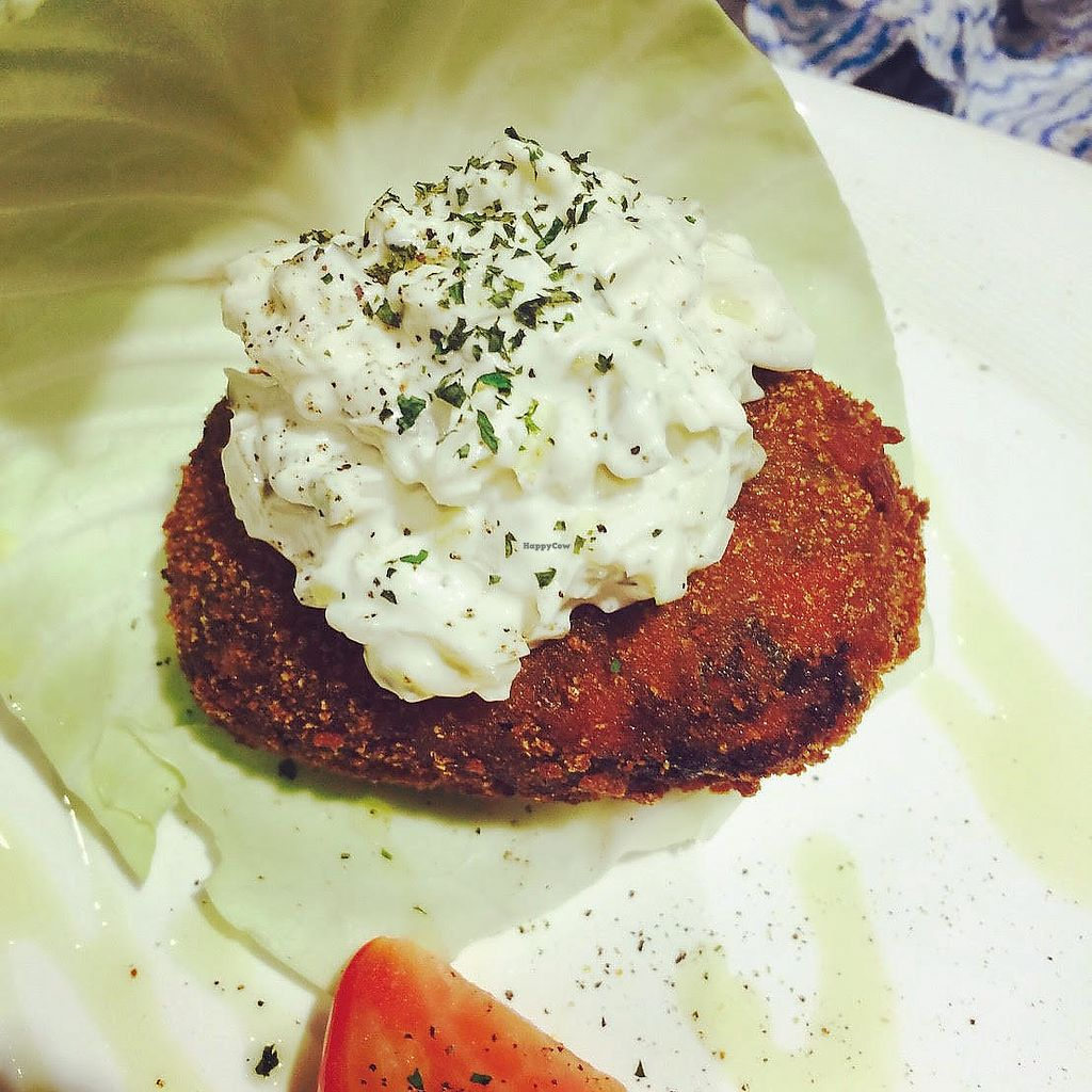 """Photo of Vegetarian Beast  by <a href=""""/members/profile/vegebeast"""">vegebeast</a> <br/>Vege Croquette (Korokke) <br/> August 25, 2017  - <a href='/contact/abuse/image/94212/296888'>Report</a>"""