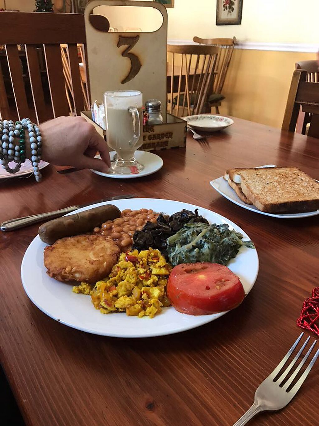 "Photo of The Secret Garden  by <a href=""/members/profile/Veganmuscle"">Veganmuscle</a> <br/>Vegan Breakfast <br/> December 31, 2017  - <a href='/contact/abuse/image/94231/341478'>Report</a>"
