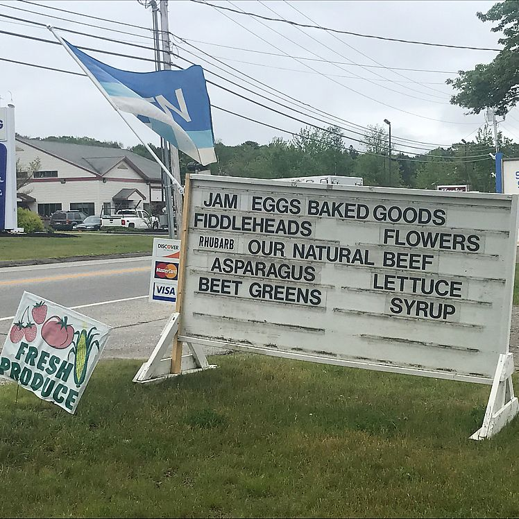 """Photo of Brown's Farm Stand  by <a href=""""/members/profile/Sarah%20P"""">Sarah P</a> <br/>sign <br/> June 17, 2017  - <a href='/contact/abuse/image/94233/270135'>Report</a>"""