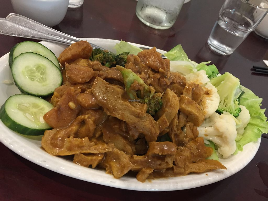 "Photo of Vegie Kitchen  by <a href=""/members/profile/Wuji_Luiji"">Wuji_Luiji</a> <br/>Curry chicken with added vegetables  <br/> February 9, 2018  - <a href='/contact/abuse/image/94258/356732'>Report</a>"