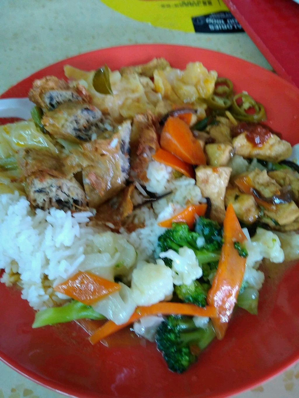 "Photo of Rong Xiang Vegetarian Food  by <a href=""/members/profile/RichardLee"">RichardLee</a> <br/>Mixed vege rice <br/> March 15, 2018  - <a href='/contact/abuse/image/94266/370811'>Report</a>"