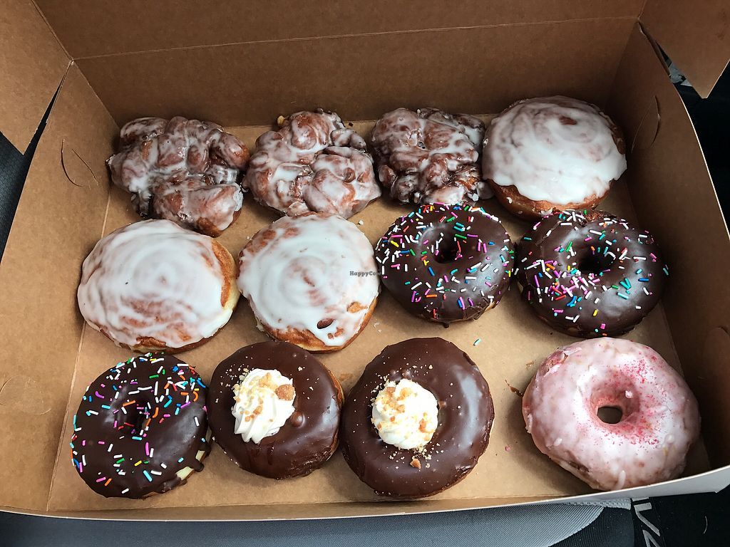 """Photo of Fry Baby Donuts  by <a href=""""/members/profile/SusanWestlake-Munro"""">SusanWestlake-Munro</a> <br/>Dozen <br/> July 30, 2017  - <a href='/contact/abuse/image/94269/286702'>Report</a>"""