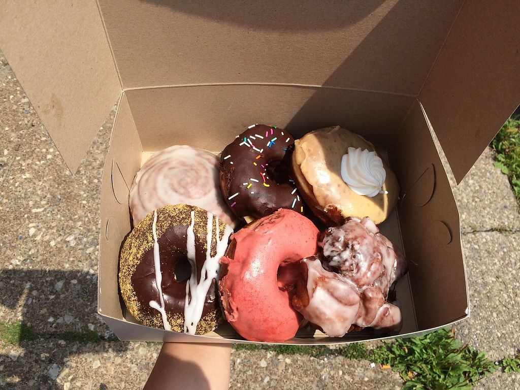 """Photo of Fry Baby Donuts  by <a href=""""/members/profile/wrenands"""">wrenands</a> <br/>one of many delicious dozens <br/> March 22, 2018  - <a href='/contact/abuse/image/94269/374159'>Report</a>"""