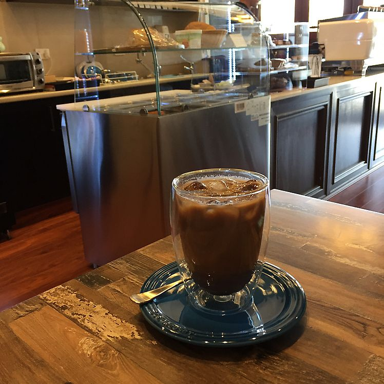 """Photo of Olivia Spring Cafe  by <a href=""""/members/profile/Wuji_Luiji"""">Wuji_Luiji</a> <br/>vegan iced mocha <br/> June 22, 2017  - <a href='/contact/abuse/image/94297/272023'>Report</a>"""