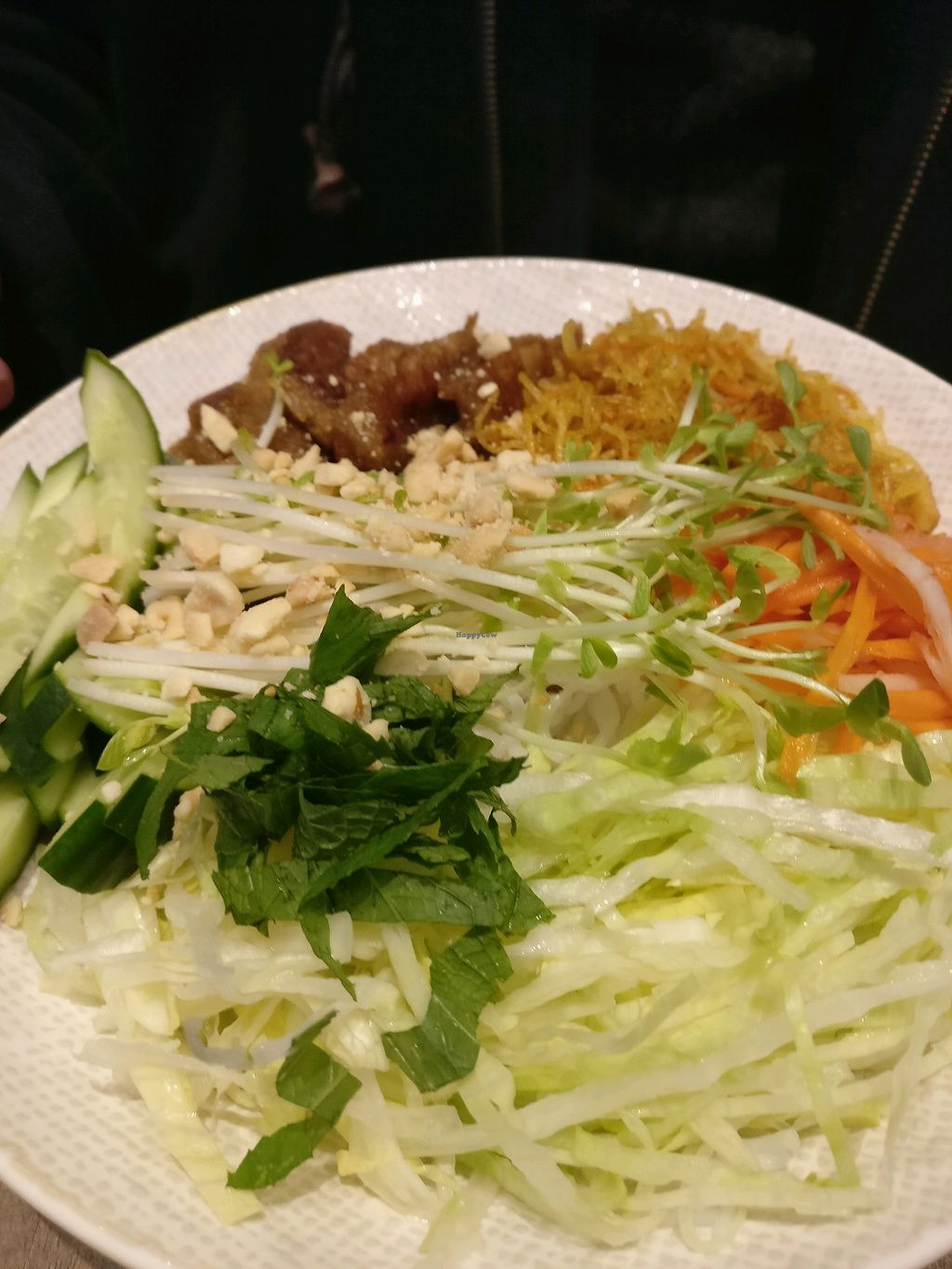 """Photo of Olivia Spring Cafe  by <a href=""""/members/profile/Aloo"""">Aloo</a> <br/>vermicelli salad <br/> December 3, 2017  - <a href='/contact/abuse/image/94297/331780'>Report</a>"""