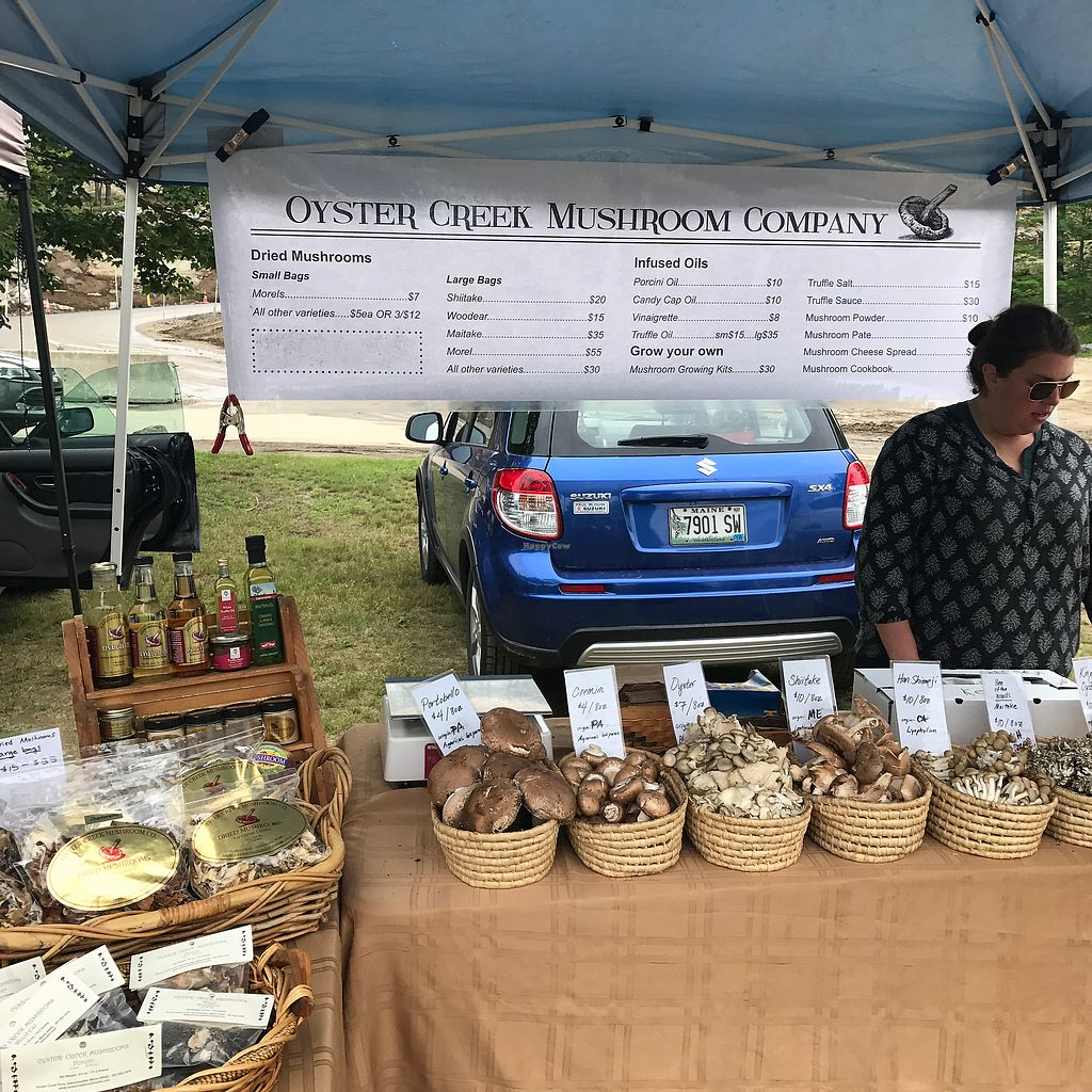 """Photo of Thursday Farmers Market  by <a href=""""/members/profile/Sarah%20P"""">Sarah P</a> <br/>mushrooms <br/> July 2, 2017  - <a href='/contact/abuse/image/94314/276023'>Report</a>"""
