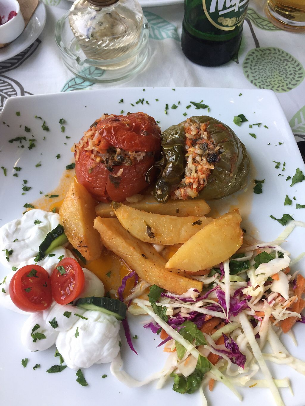 """Photo of Myli Restaurant Cafe  by <a href=""""/members/profile/Sophiapalmqvist"""">Sophiapalmqvist</a> <br/>vegetarian dish <br/> June 30, 2017  - <a href='/contact/abuse/image/94363/275340'>Report</a>"""