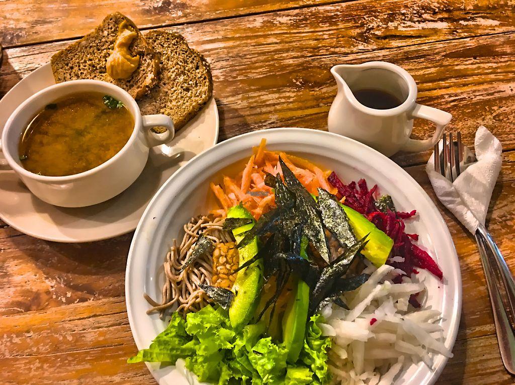"Photo of Zula Vegetarian Paradise  by <a href=""/members/profile/SoniaGivray"">SoniaGivray</a> <br/>Orgánico y Vegetariano, riquísimo todo! <br/> November 27, 2016  - <a href='/contact/abuse/image/9439/194976'>Report</a>"