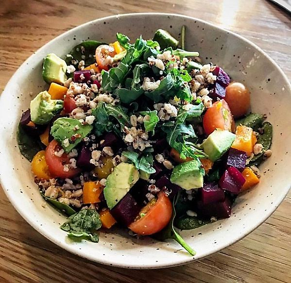 """Photo of St. Kilda  by <a href=""""/members/profile/MelodyVeganJoy"""">MelodyVeganJoy</a> <br/>Grain Bowl <br/> April 4, 2018  - <a href='/contact/abuse/image/94423/380841'>Report</a>"""
