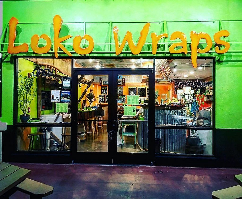 """Photo of Loko Wraps  by <a href=""""/members/profile/jlideik%40gmail.com"""">jlideik@gmail.com</a> <br/>This is how the place looks on he outside. So green :)  <br/> July 3, 2017  - <a href='/contact/abuse/image/94430/276433'>Report</a>"""