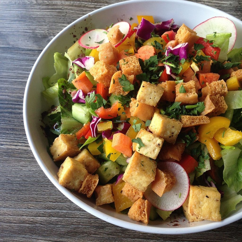 "Photo of Harvest by The Patio  by <a href=""/members/profile/oleiah"">oleiah</a> <br/>Middle Eastern Chopped Salad: 