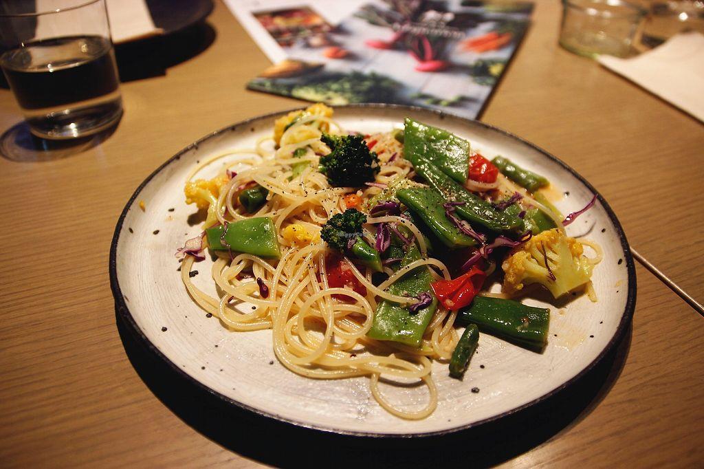 "Photo of Cosme Kitchen Adaptation - Omotesando Hills  by <a href=""/members/profile/YukiLim"">YukiLim</a> <br/>Veggie spaghetti  <br/> July 17, 2017  - <a href='/contact/abuse/image/94441/281452'>Report</a>"