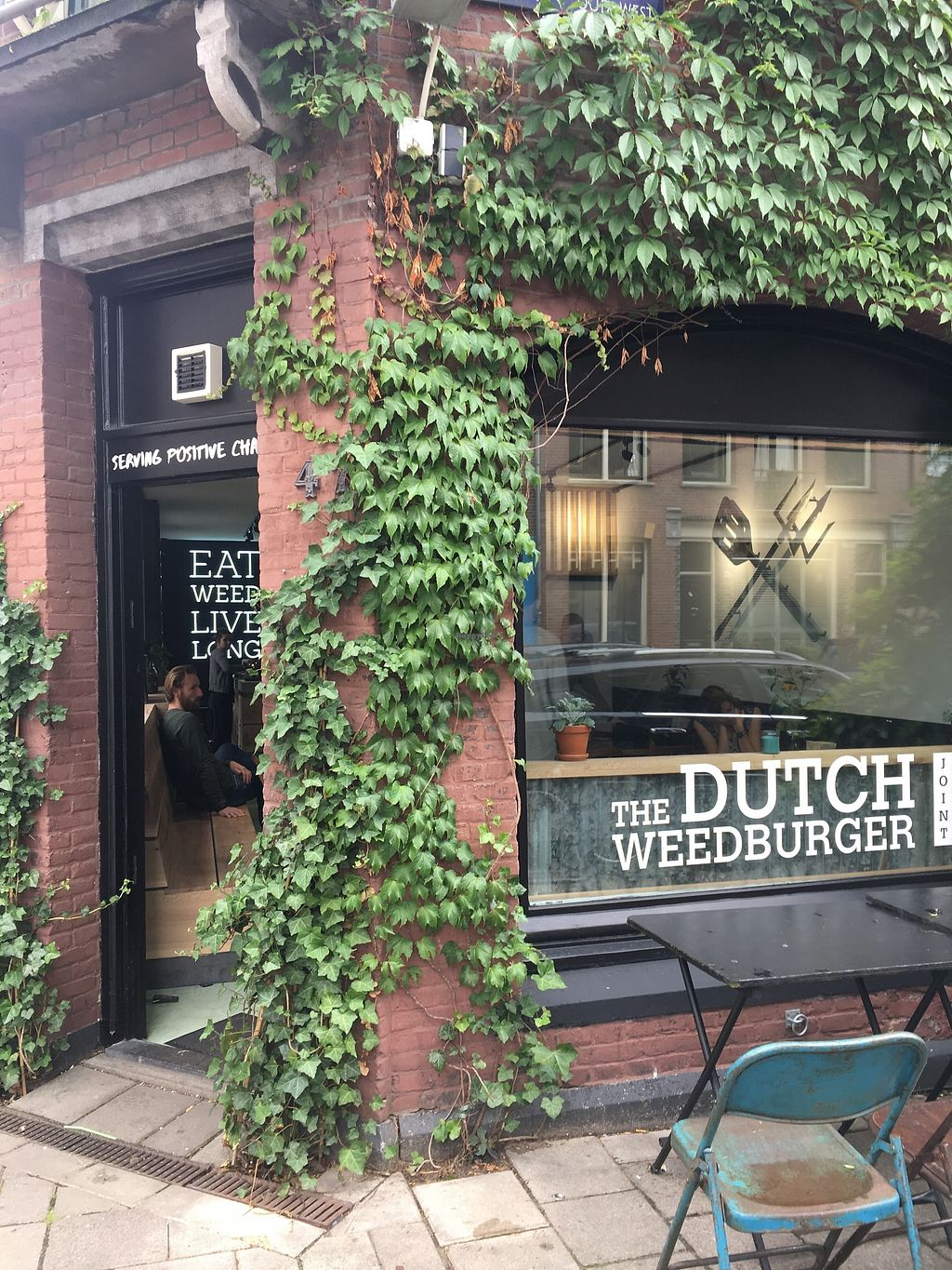 "Photo of The Dutch Weed Burger Joint  by <a href=""/members/profile/vegan%20frog"">vegan frog</a> <br/>Outside <br/> June 30, 2017  - <a href='/contact/abuse/image/94464/275285'>Report</a>"