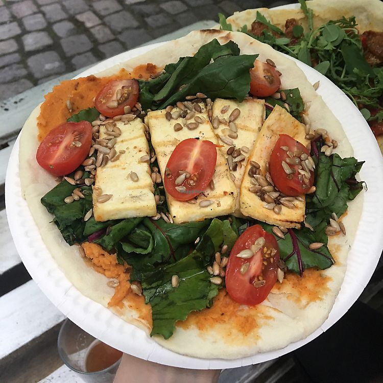 """Photo of CLOSED: Chatpata Vege Grill - Food Stand  by <a href=""""/members/profile/KatiaApanova"""">KatiaApanova</a> <br/>naan with tofu  <br/> June 20, 2017  - <a href='/contact/abuse/image/94483/271515'>Report</a>"""
