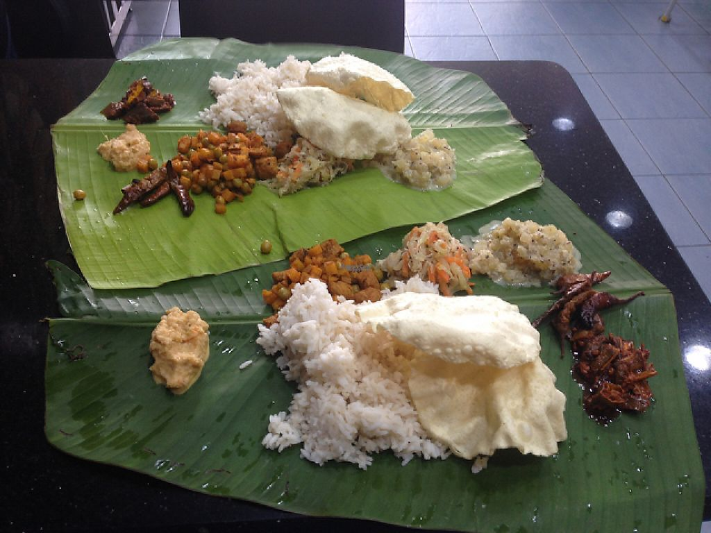 """Photo of Chat Masala  by <a href=""""/members/profile/Tofulicious"""">Tofulicious</a> <br/>Unlimited Banana Leaf Thali <br/> February 19, 2017  - <a href='/contact/abuse/image/9449/228155'>Report</a>"""