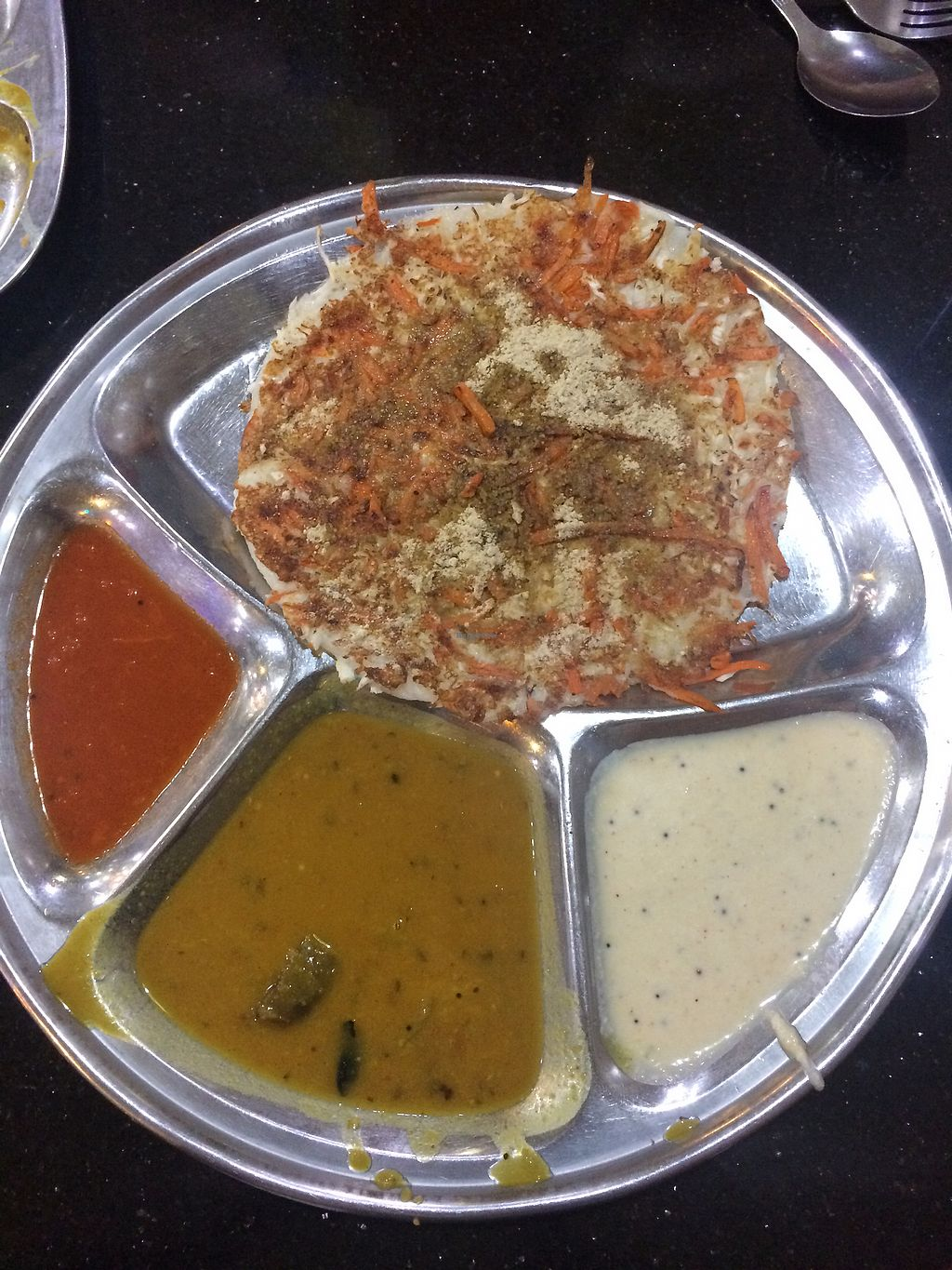 """Photo of Chat Masala  by <a href=""""/members/profile/LaurenceMontreuil"""">LaurenceMontreuil</a> <br/>Uthapam <br/> February 21, 2018  - <a href='/contact/abuse/image/9449/362042'>Report</a>"""