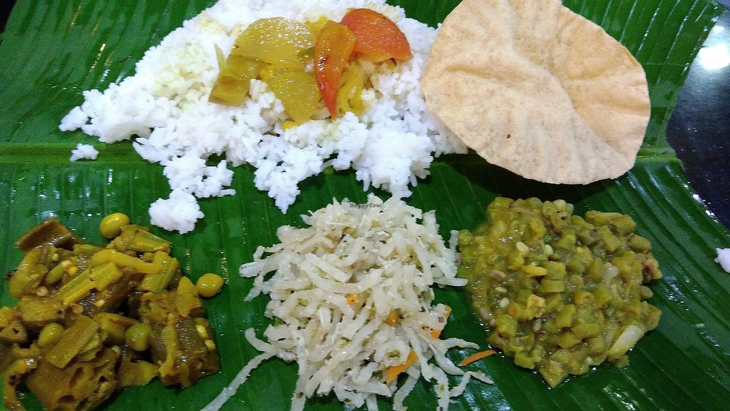 """Photo of Chat Masala  by <a href=""""/members/profile/ChoyYuen"""">ChoyYuen</a> <br/>Banana leaf rice <br/> April 17, 2018  - <a href='/contact/abuse/image/9449/387187'>Report</a>"""