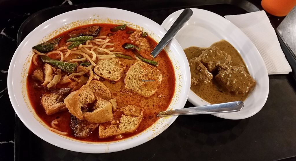 """Photo of Gerai Masakan Sayuran: Vegetarian  by <a href=""""/members/profile/Shyamntk"""">Shyamntk</a> <br/>Curry noodles <br/> August 16, 2015  - <a href='/contact/abuse/image/9450/113924'>Report</a>"""