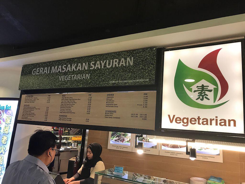 "Photo of Gerai Masakan Sayuran: Vegetarian  by <a href=""/members/profile/GaryBartlett"">GaryBartlett</a> <br/>Gerai Masakan Sayuran <br/> April 1, 2018  - <a href='/contact/abuse/image/9450/379348'>Report</a>"